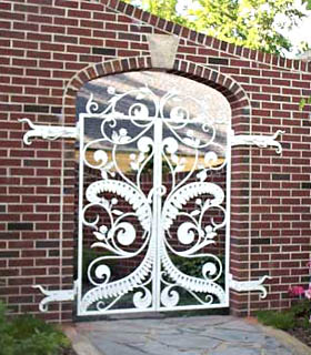 Double Hinged Gate