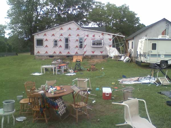 Mild Tornado Hit My Birthday Party