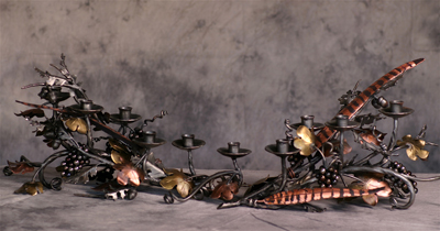 The Harvest Candelabra