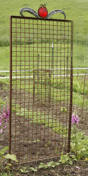 Found Object Trellis