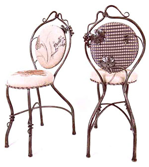 Grape Leaf and Vine Chairs